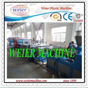 Línea de producción de plástico de tablero de espuma de PVC