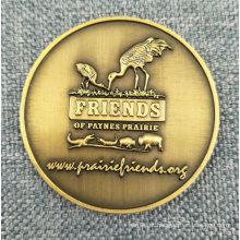 Moeda de bronze de bronze antigo personalizado