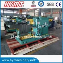 BY60125C tipo hidráulico metal ranhura máquina de moldagem / máquina hidráulica shaper