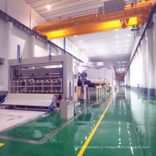 Machine de fabrication de papier à grande vitesse de rembobinage