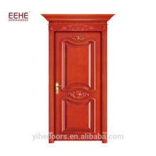 Cadre de porte en bois de teck et usine de Guangdong de conception de porte en bois massif