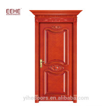 Teak Wood Door Frame and Solid Wood Door Design Guangdong Factory