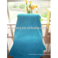 Trama de malha coral cobertor de lã (Long Plush Pile)