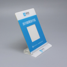 Benutzerdefinierte billige Acryl Stand Up Sign Holder