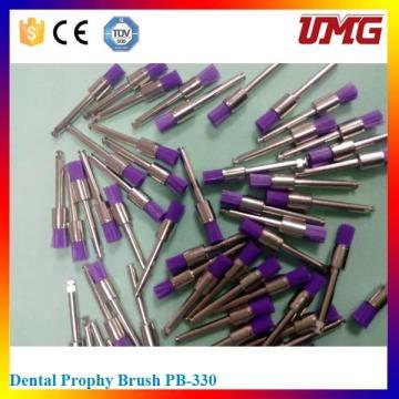 Dental descartáveis Material Metal Handle Polishing Brush