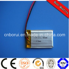 Batterie de polymère d'ion de lithium de 300mAh 3.7V pour des casques de Bluetooth
