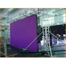 Waterproof 2r1g1b Ph16 Color Led Stadium Display Screen Rental With Cree Lamp