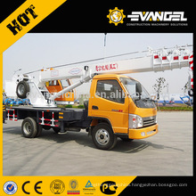 YGQY7K with 24 meters 5 section telescopic boom 7ton mini small size hydraulic truck crane