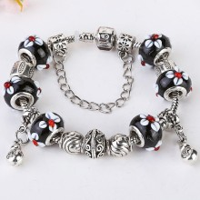 most popular products DIY Jewelry,charm Glass beads bracelet