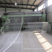Malla de alambre galvanizada sumergida caliente de Gabion