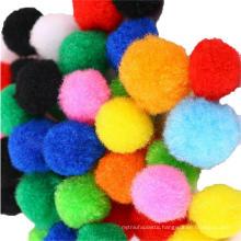 Factory direct sale 1cm-3cm in diameter polypropylene Pompoms for art
