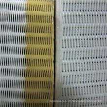 Tissu durable de maille de spirale de dessiccateur de polyester pour l'industrie du papier
