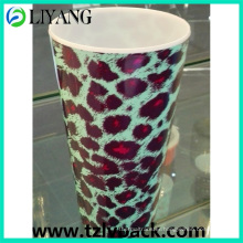 Sexy Leopard Print, Heat Transfer Film for Plastic Cup