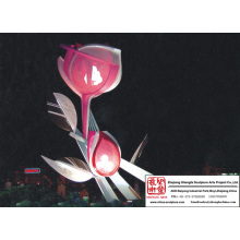 Park Flower Light Sculpture