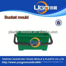 Taizhou molde fábrica / China moldeo de cubo de inyección, molde plástico para cubo con mango