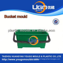 Fábrica de moldes Taizhou / China moldagem em balde de injeção, molde plástico para balde com alça