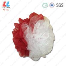 Elastic mesh smooth sponge ball