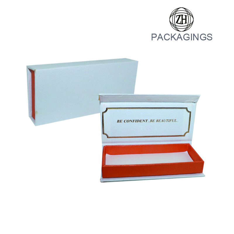Luxury eyelash packaging box small eyelash box
