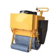 Вибрирующий ручной каток с одним колесом