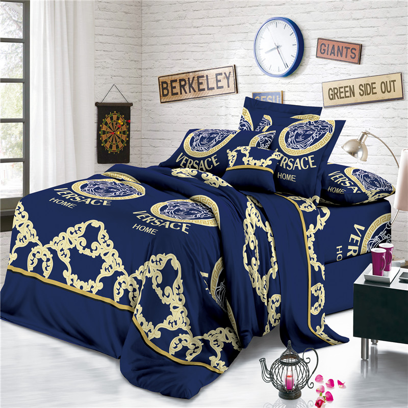 Disperse Print Versace Bed Sheets