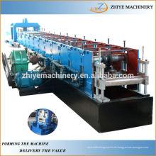 Estructura de acero C Purlin Roll formando la máquina