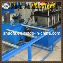 Galvanized Roof Ridge Cap Roll Forming Machine
