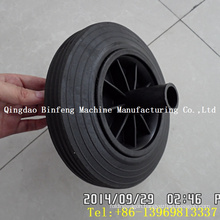 "8"" Bin Rubber Wheel for 120L 240L Trash Bin"