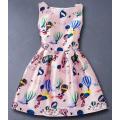 Belo vestido para menina e adolescente, vestidos para filha e Monther