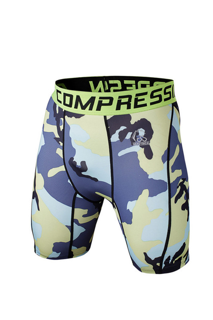 compression athletic shorts