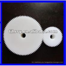 Engranaje de plástico de alta precisión y engranaje POM