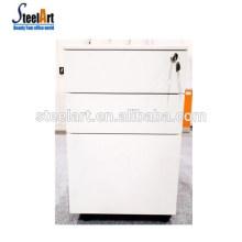 Factory manufacture 3-drawer office wood file cabinet/wood pedestal under desk