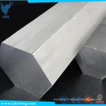 Achat en usine de la barre hexagonale en acier inoxydable 316
