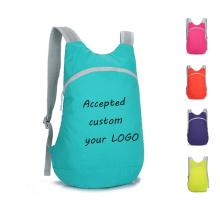custom foldable sports hiking outdoors backpack high quality  folding shoulder bag sport bags for gym