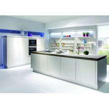 Kitchen Cupboard High Gloss Wooden Cabinet (GLOE203)