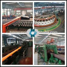 Tubo de acero sin costura ASTM A106 Gr.B