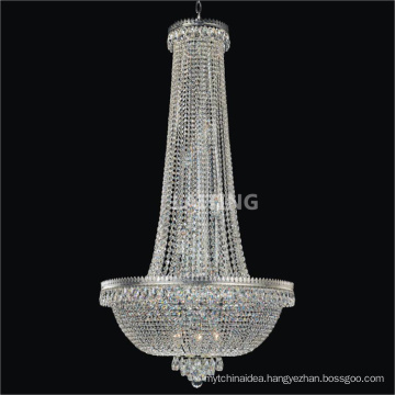 Wholesale crystal lamps professional lights entrance /foyer large chandeliers lighting 71173