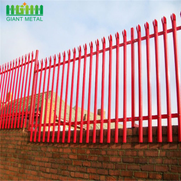 factory Directly High quality steel palisade fencing