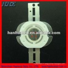La puce d'Epistar a mené la diode menée par puissance élevée de 5w avec le radiateur 130lm (couleur blanche / jaune / bleue / pourpre)