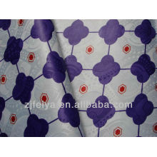 Afrika gedrucktes Damast Shadda Gewebe FEIYA Textilneues Jacquard-Mode-Guinea-Brokat-Polyester-Kleid