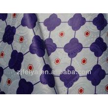 Africa imprimió la tela de Shadda del damasco FEIYA Textile nueva tejer de Jacquard Guinea Brocade del poliéster de la manera