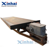 Energy Saving Small Gold Shaker Table, Gravity Separator for Copper Group Introduction