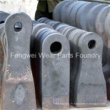 Pièces d'usure de concasseur à marteaux