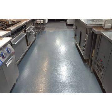 Kitchen concrete non-slip coating
