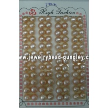 Half drilled pearl AAA grade 7mm, pink