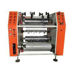Stretch Film Slitter Rewinder Machine High Output Rewinding Pe Pvc Cling Film Tape Rewinding Machine