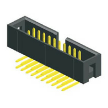 2.54 mm Box Header haakse connector