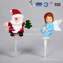 Оптовые продажи пластиковых Рождественский торт украшение