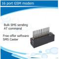 16 портов GSM сети стандарта VoIP-телефонии модем с Бесплатная отправка смс программного обеспечения