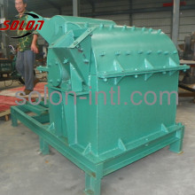 wood sawdust block making machine with crusher
