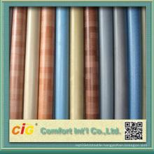 0.5mm-0.65mm Wood Grain Plastic PVC Flooring for Home Indoor Use